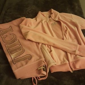 Juicy Couture velour pant set